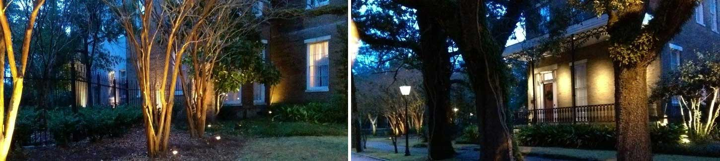 Landscape Lighting Mobile Alabama